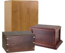 Wood Urns